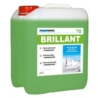 BRILLANT LAKMA - высококонцентрированная жидкость для ручного мытья посуды. 5л