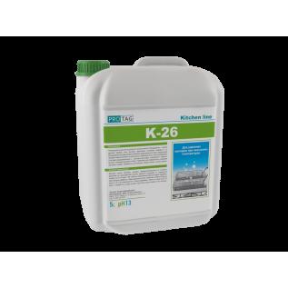 К-26 Сильнощелочное гелеобразное средство для удаления пригаров при не высоких температурах.
