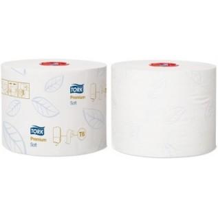 Tork туалетная бумага Mid-size в миди рулонах мягкая