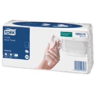 N95316 Tork листовые полотенца Singlefold C-сложения