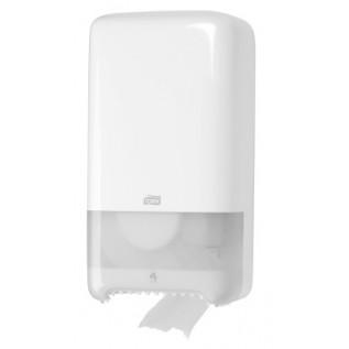 Tork диспенсер для туалетной бумаги Mid-size в миди рулонах белый